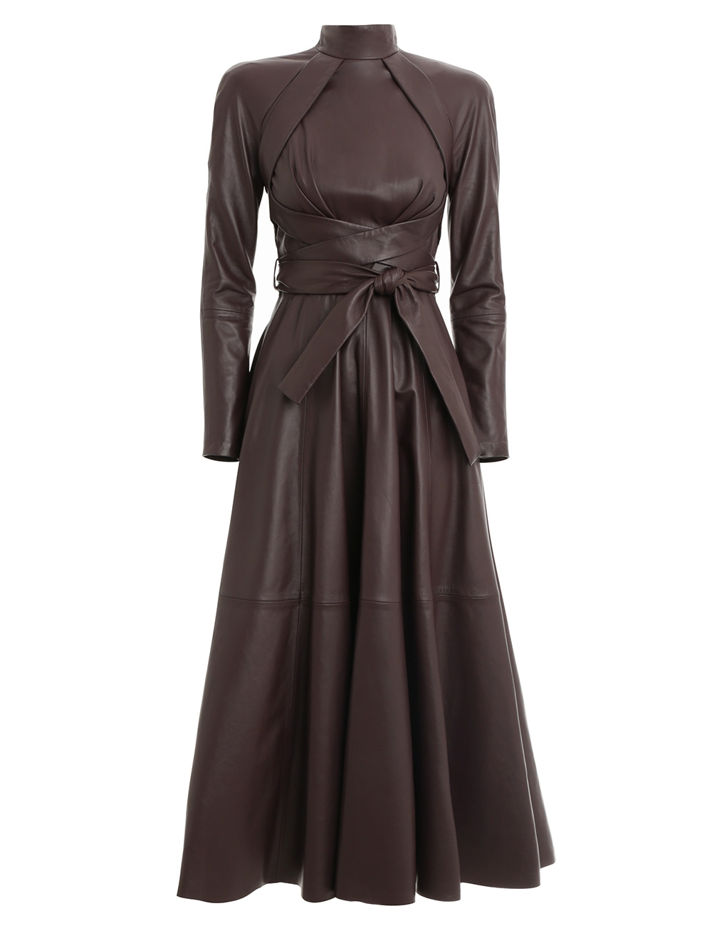 Resistance Leather Dress