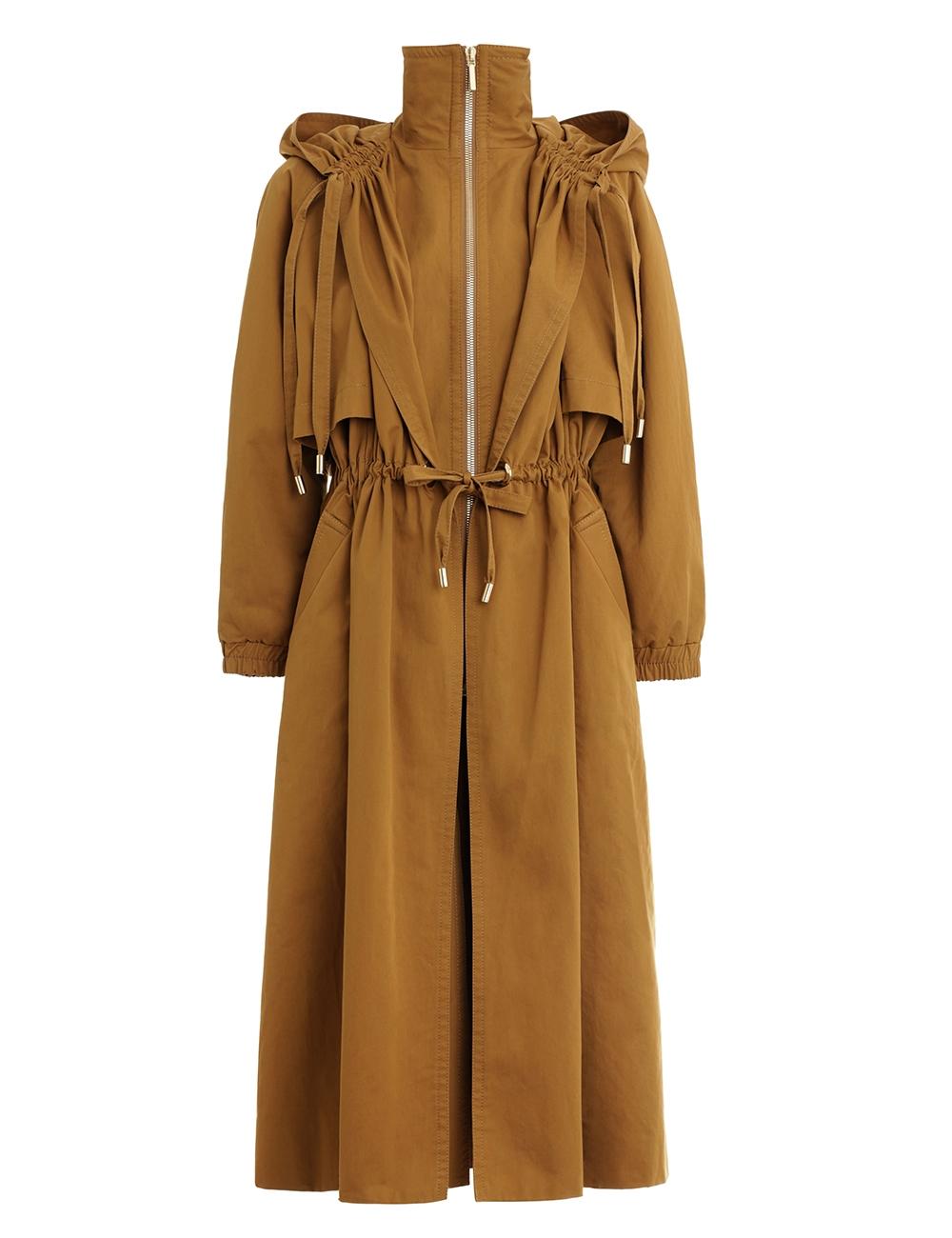 Espionage Anorak Coat