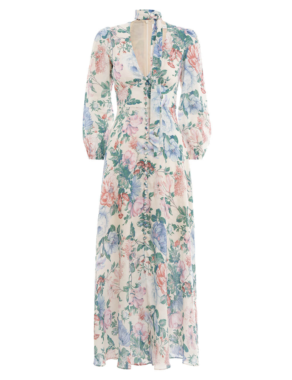 Verity Plunge Long Dress