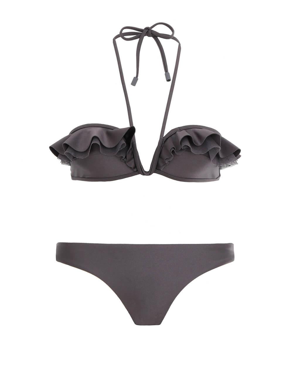 Honour Curved Frill Bikini