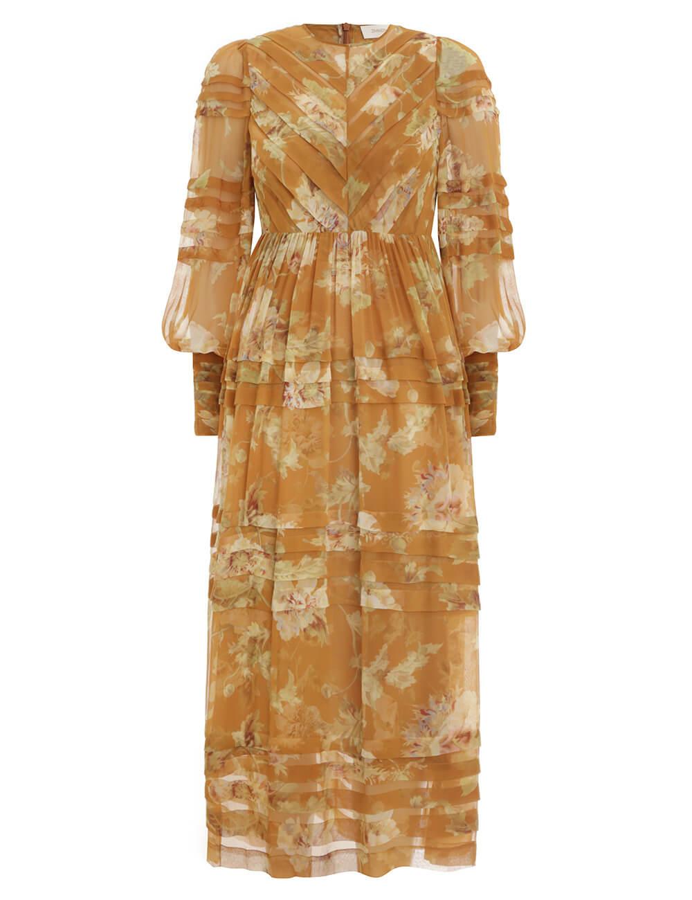 Sabotage Folded Tuck Dress