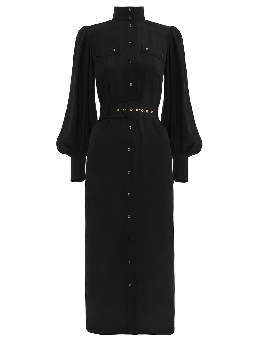 Espionage Silk Utility Dress