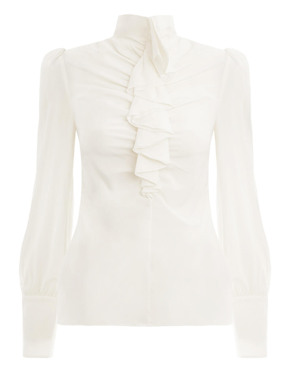 Espionage Cinched Blouse