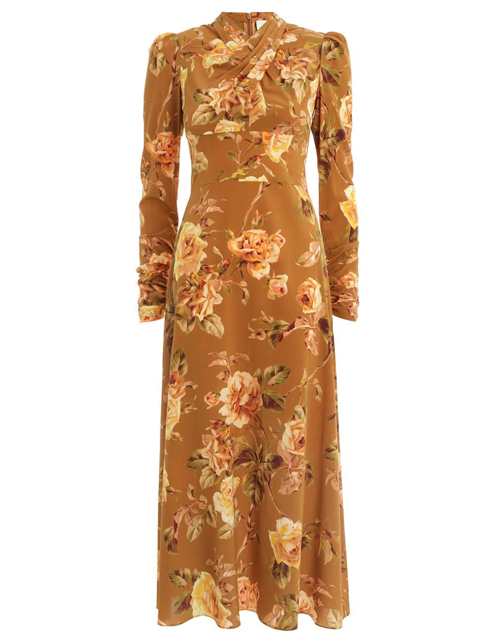 Resistance Silk Twist Dress