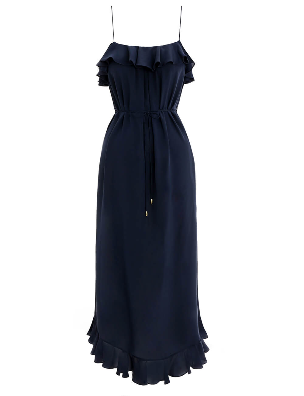 Espionage Silk Frill Dress