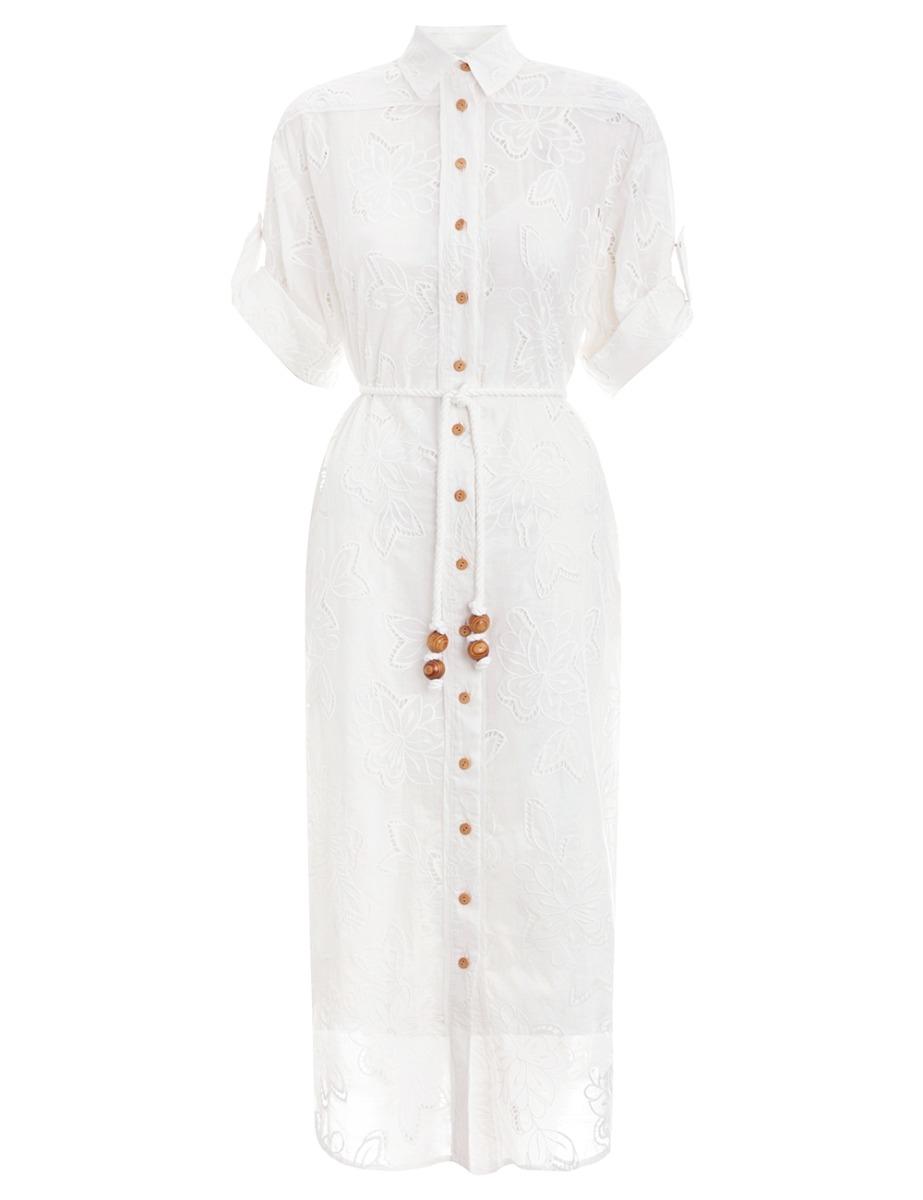 Kirra Embroidered Long Dress