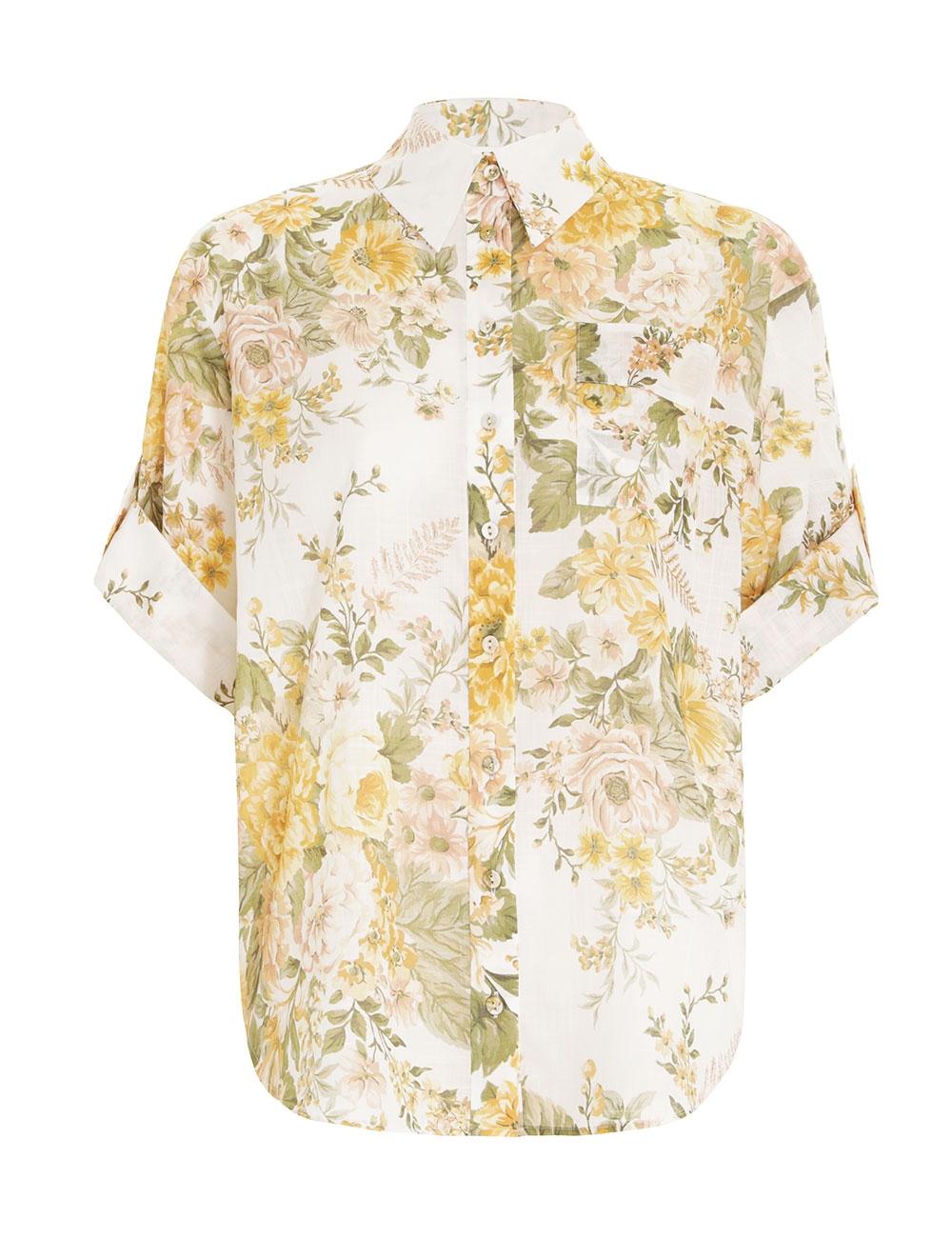 Amelie Roll Cuff Shirt