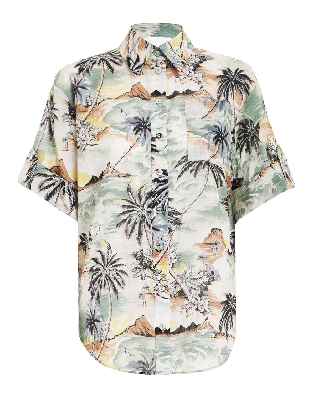 Juliette Roll Cuff Shirt
