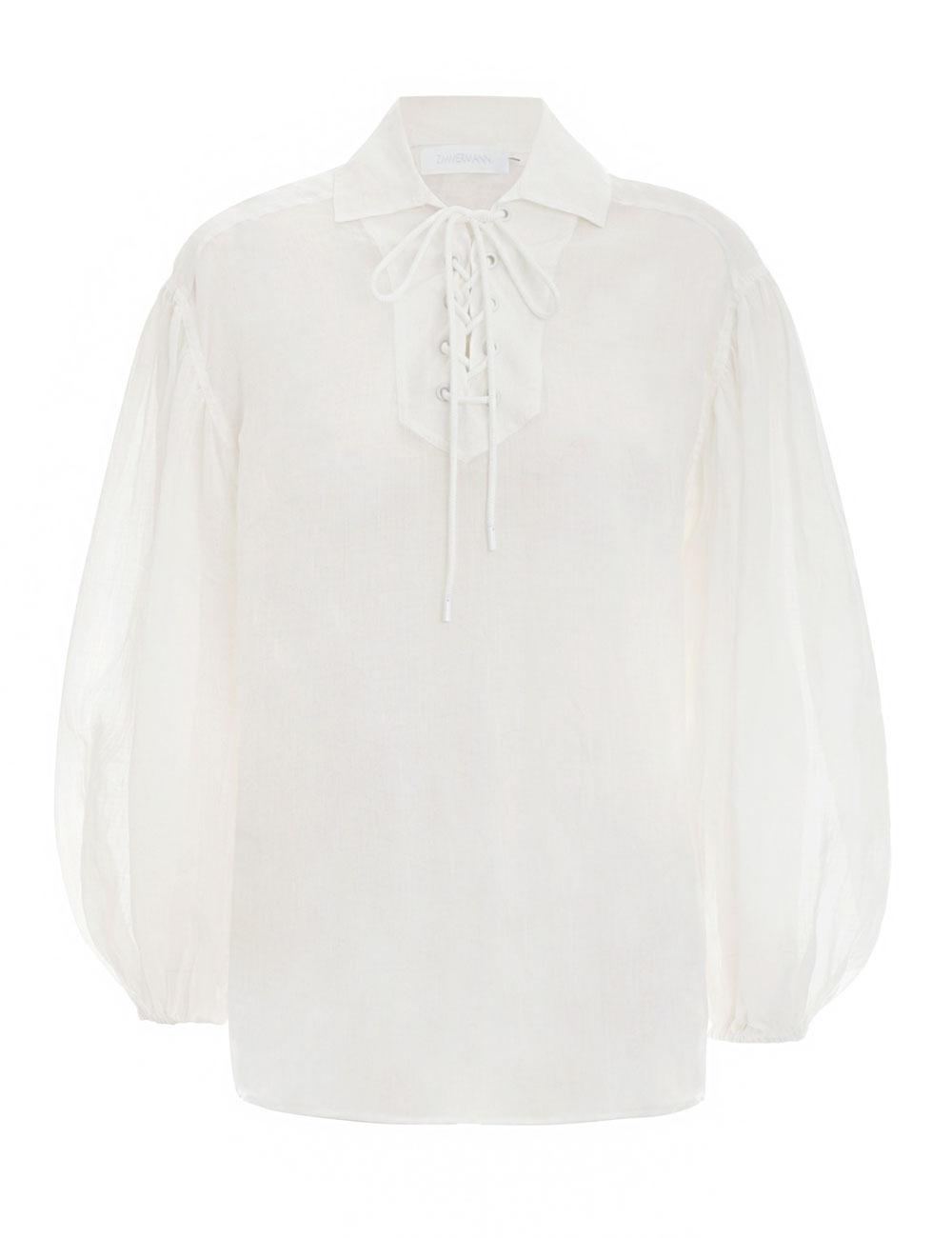 Bonita Lace Up Shirt
