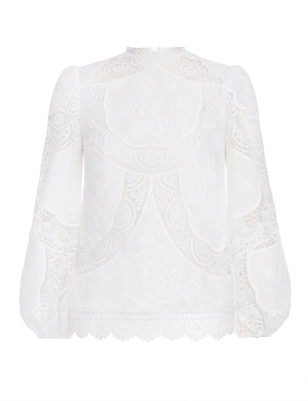 Bonita Crochet Embroidery Top