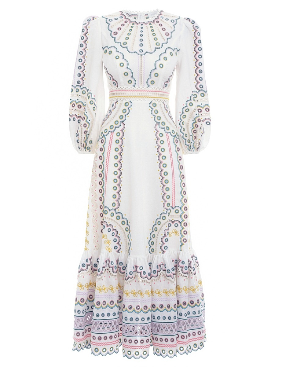 Peggy Multi Long Dress