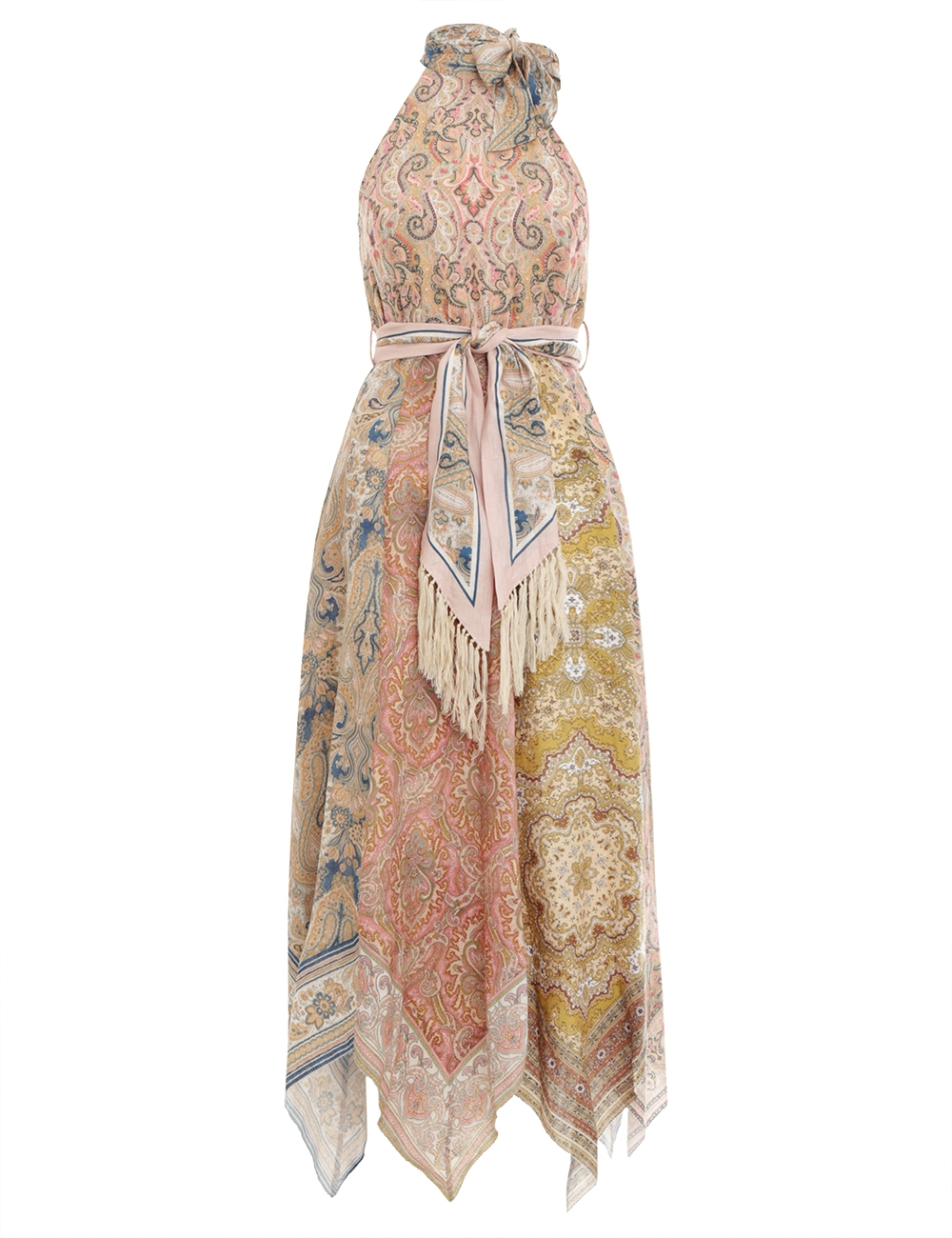 Freja Hanky Hem Long Dress