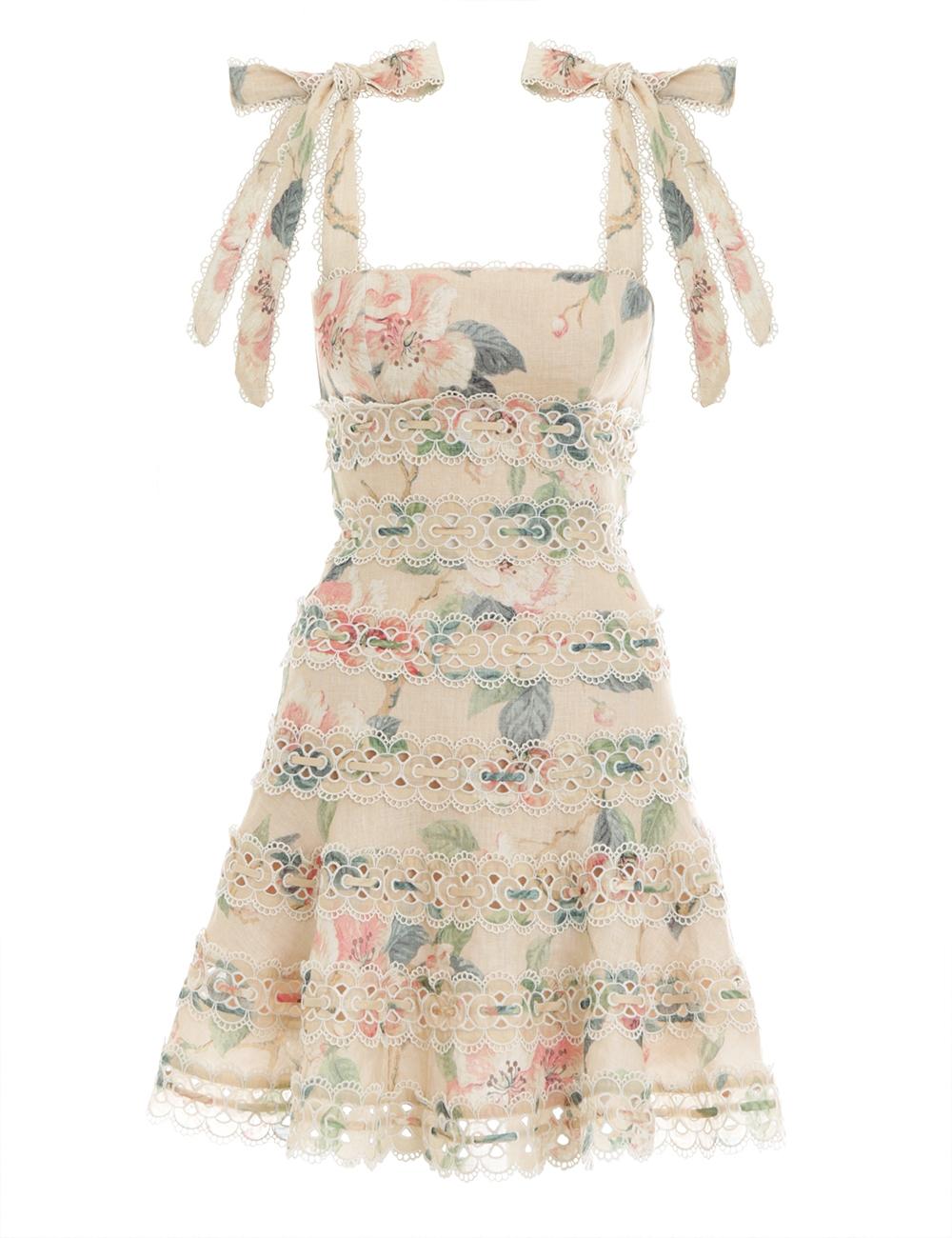 Kirra Tie Shoulder Mini Dress