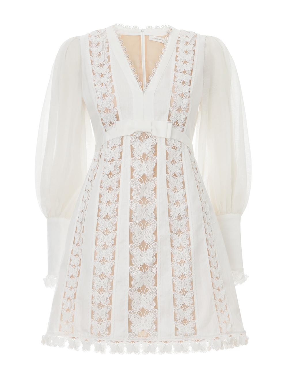 Super Eight Flutter Mini Dress