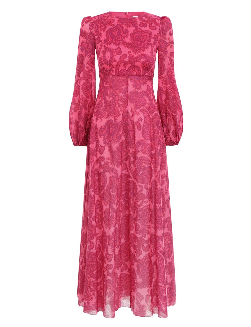 Edie High Neck Dress