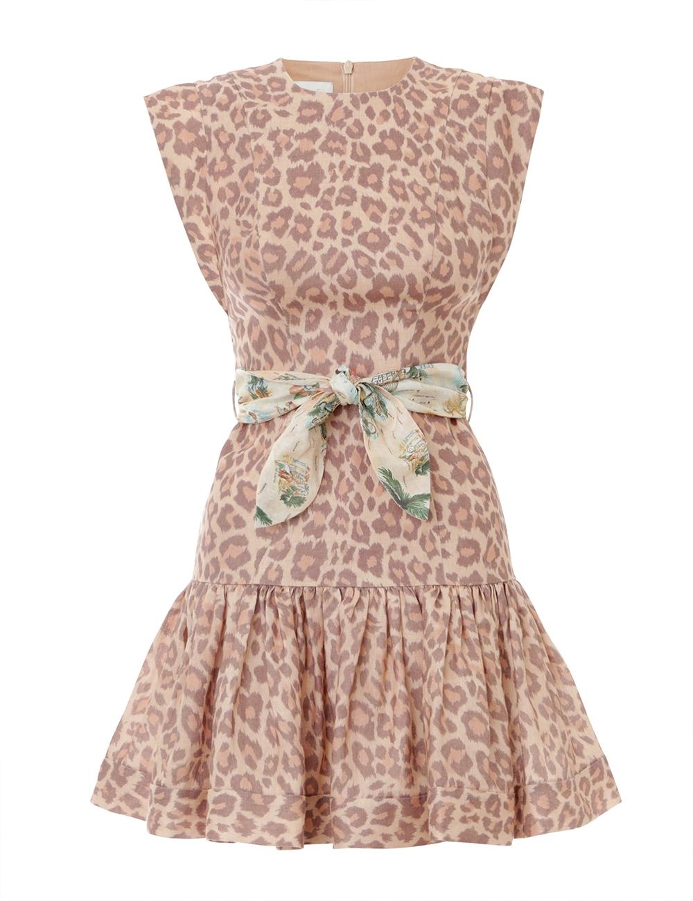 Kirra Flounce Short Dress
