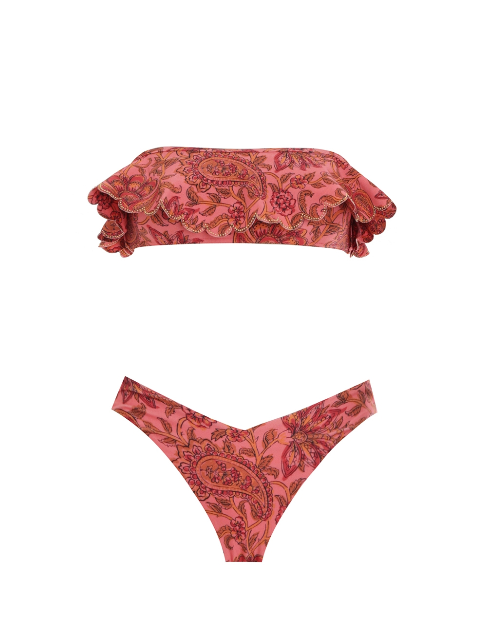 Edie Frill Bandeau Bikini