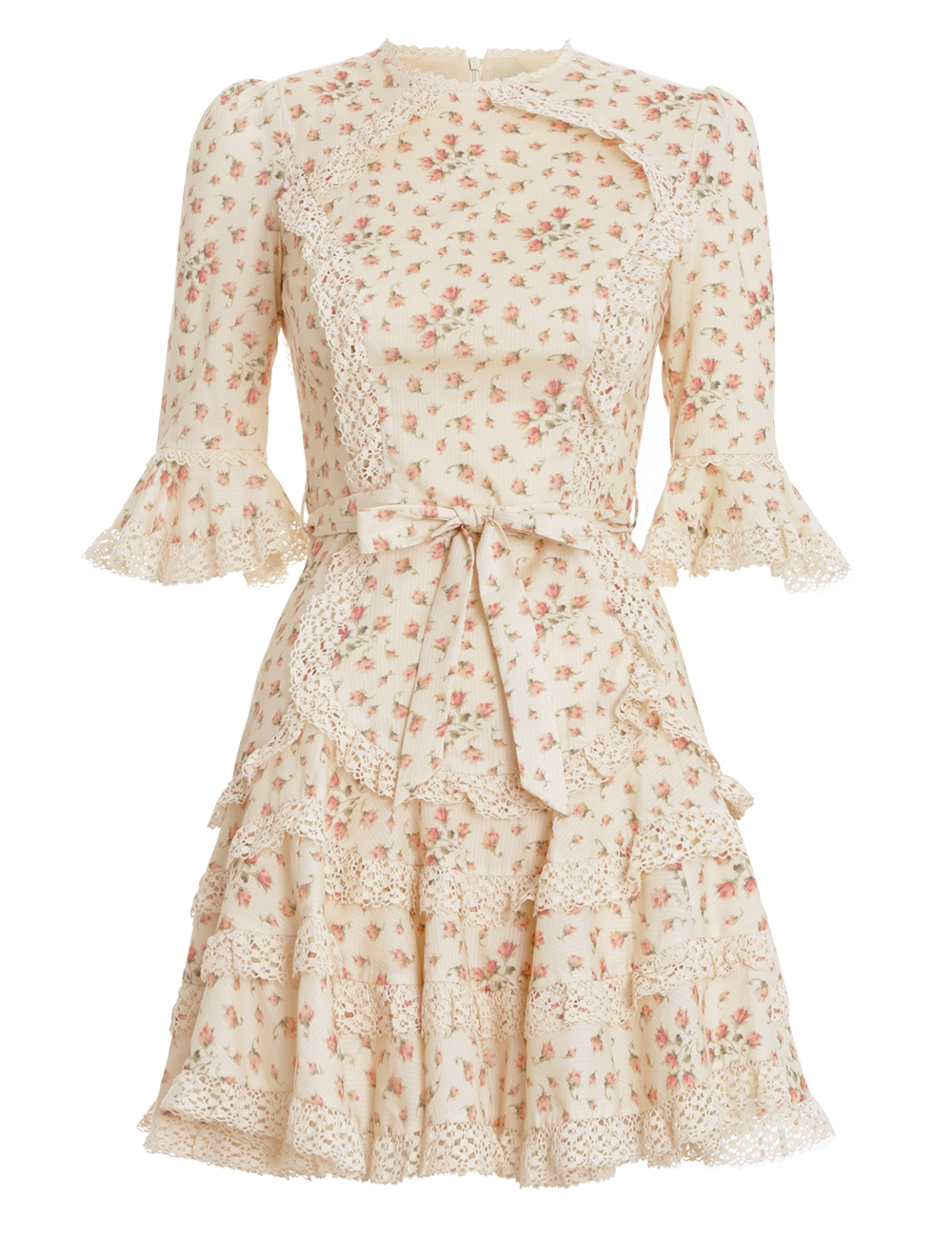 Freja Trim Flutter Dress