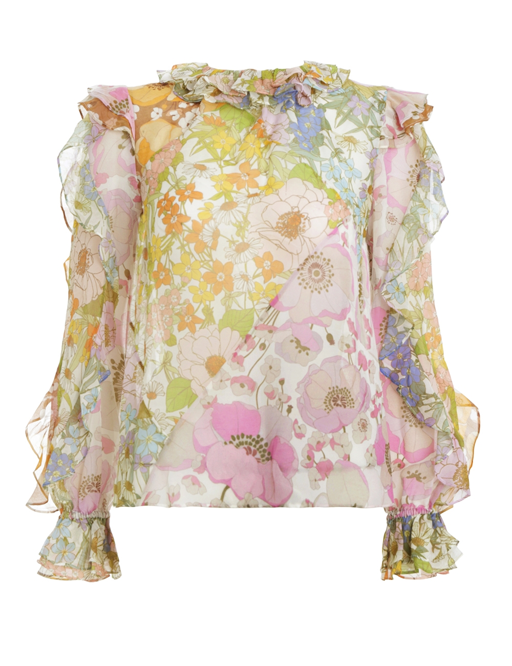 Super Eight Ruffle Shirt