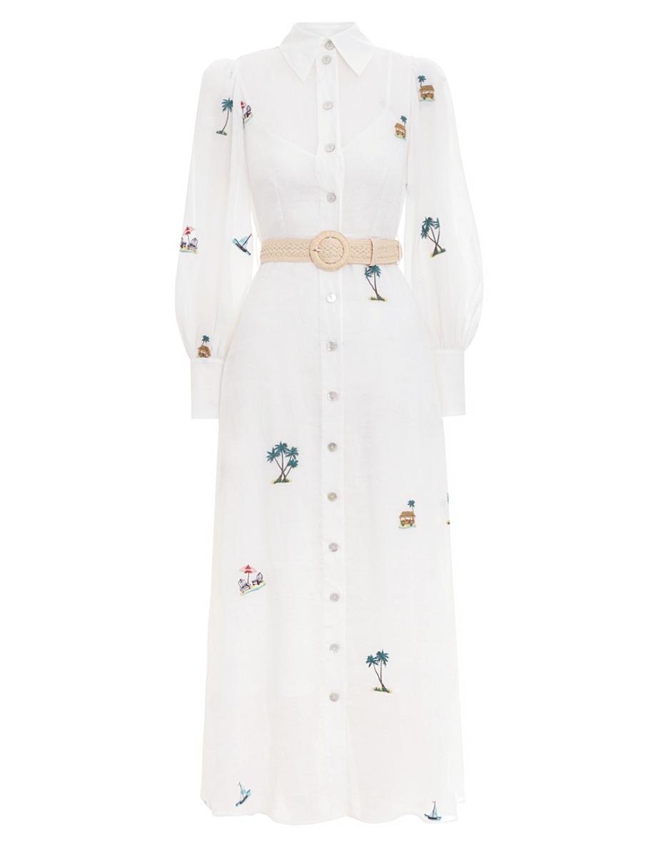 Kirra Patches Shirt Dress