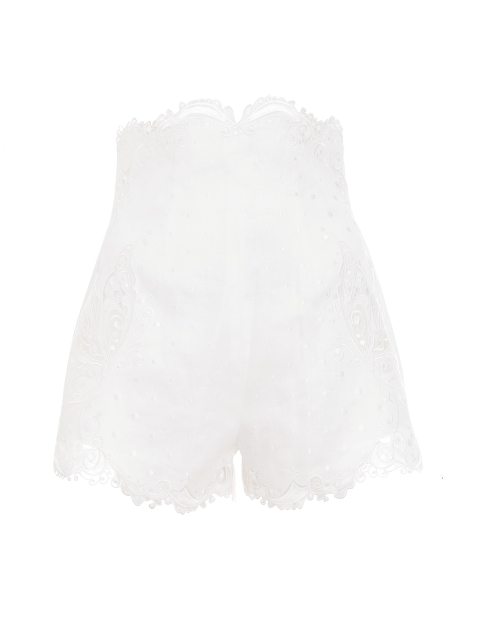 Super Eight Embroidered Short