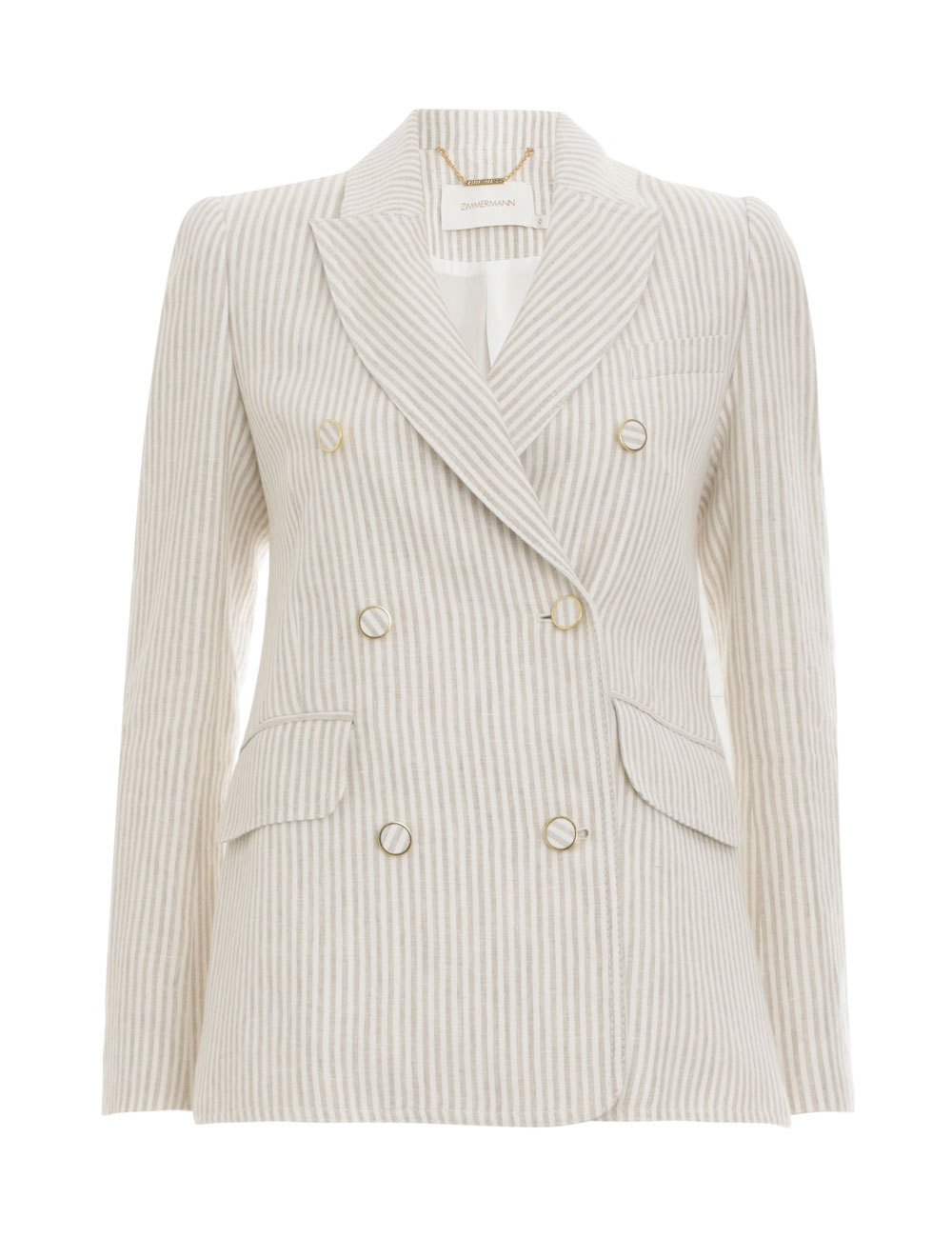 Super Eight Striped Jacket