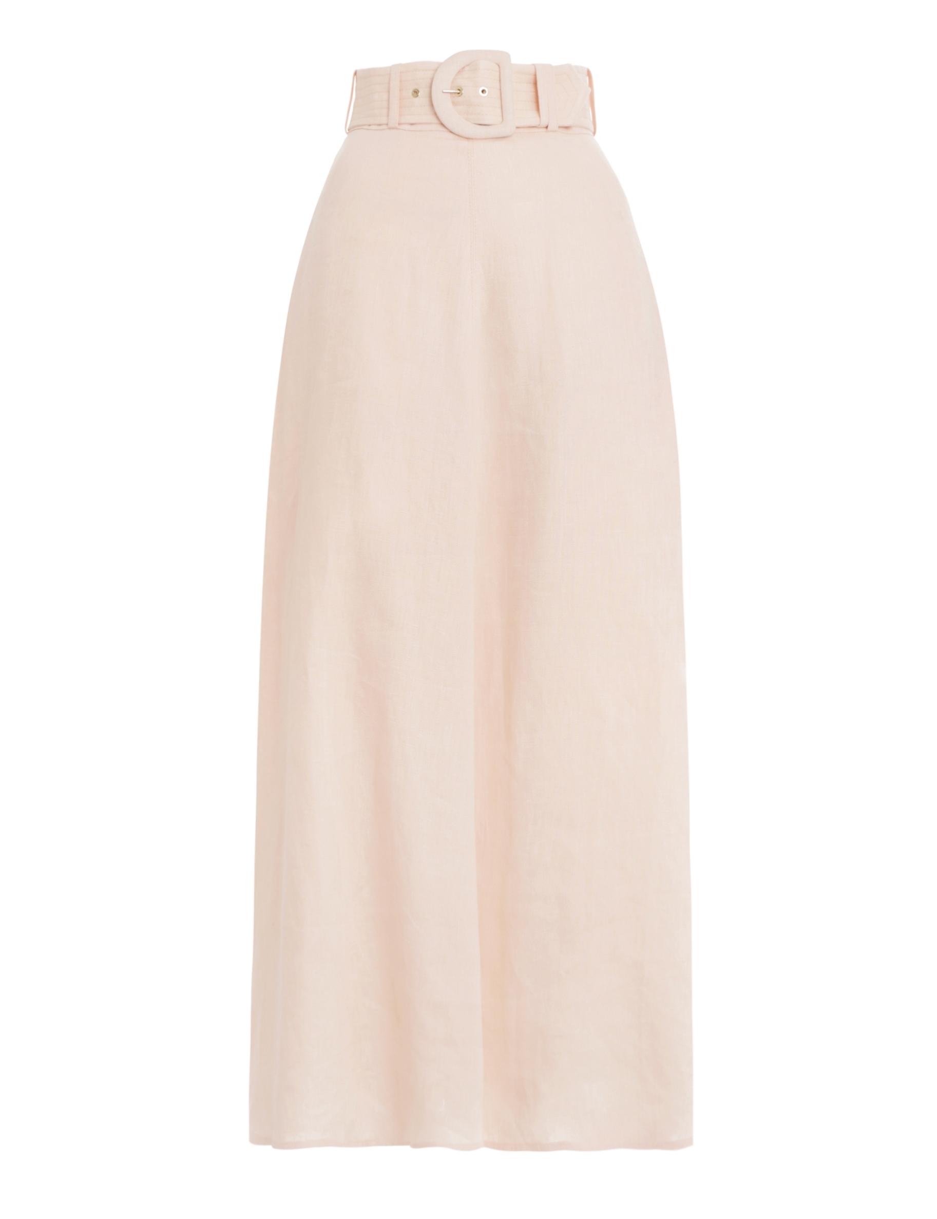 Super Eight Linen Skirt