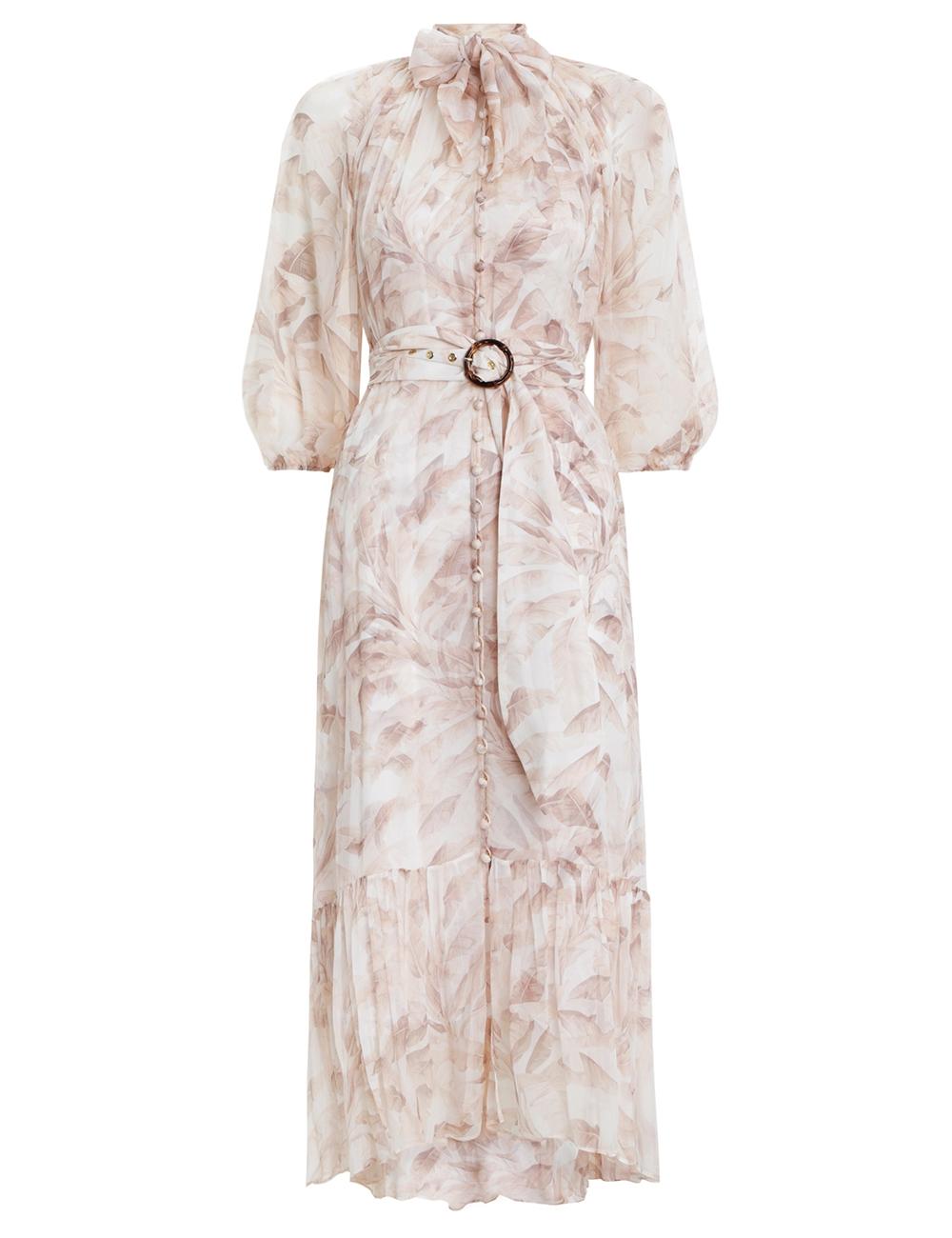 Super Eight Tie Midi Dress