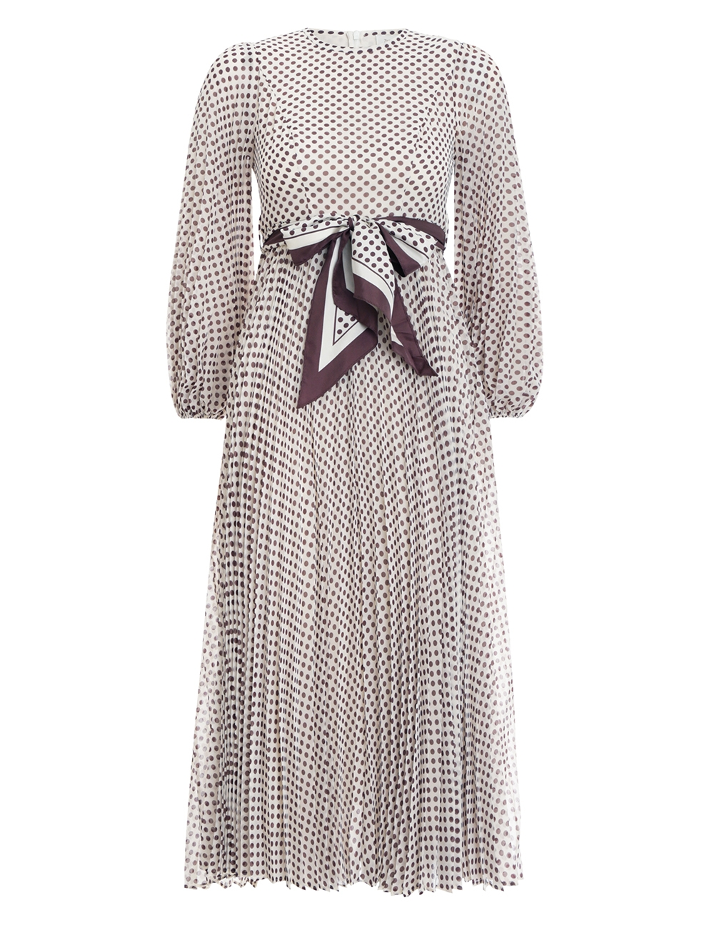 Sunray Long Sleeve Dress