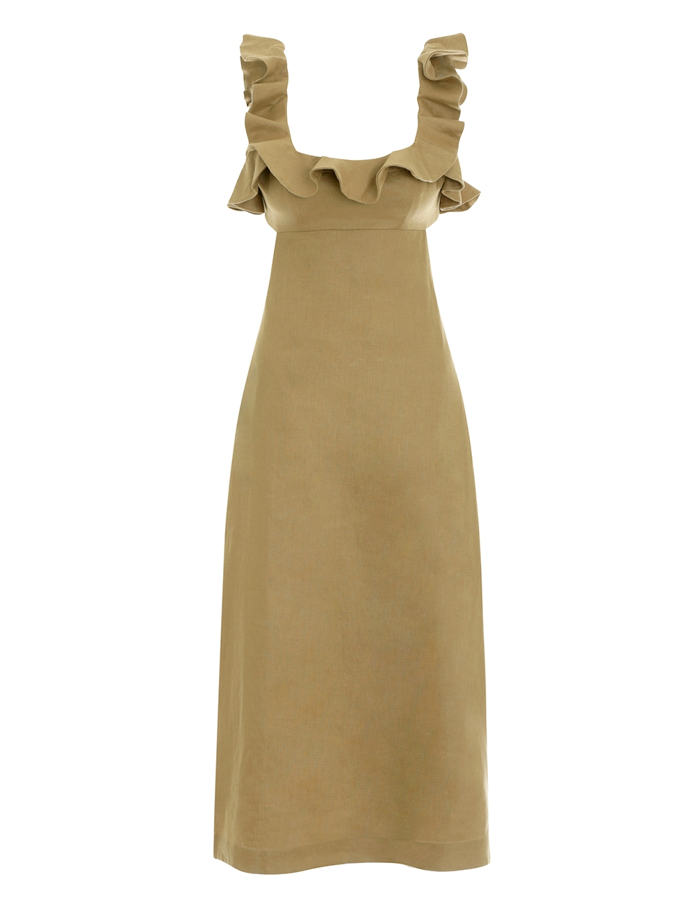 Super Eight Frilled Midi