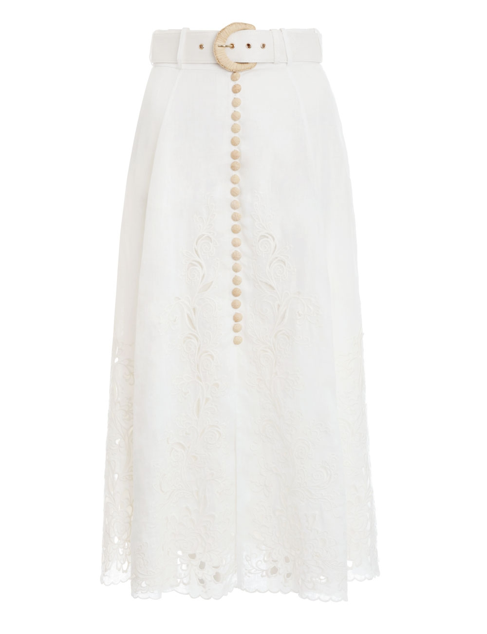 Peggy Embroidered Skirt