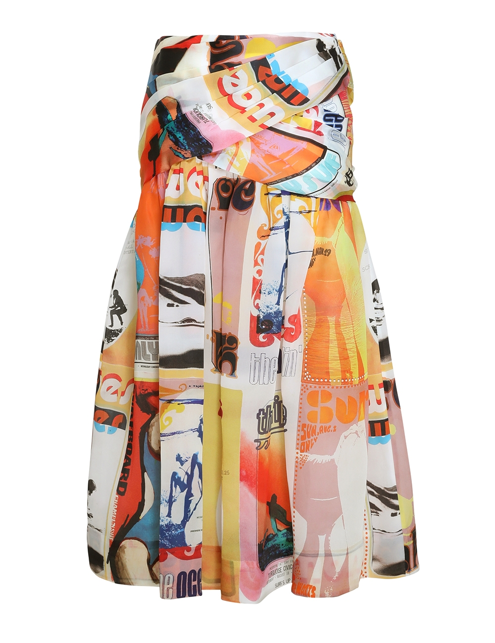 Brightside Wrap Midi Skirt