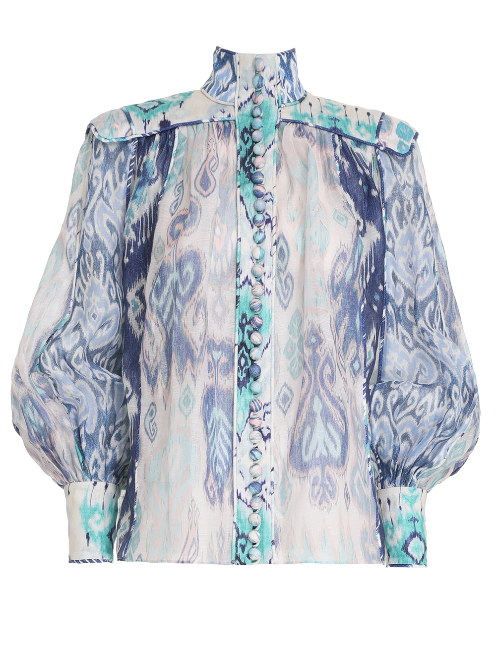 Glassy Long Sleeve Blouse