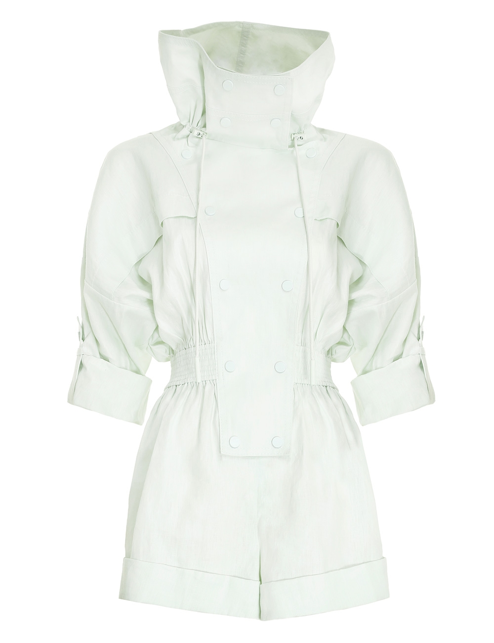 Glassy Rolled Playsuit