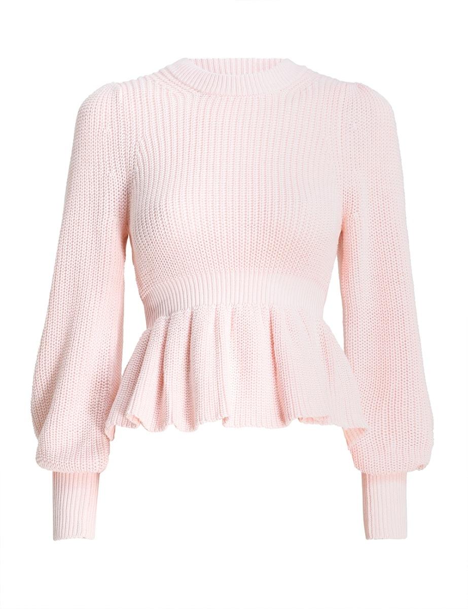 Peplum Sweater