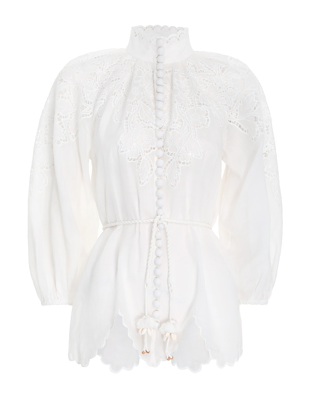 Carnaby Scallop Blouse