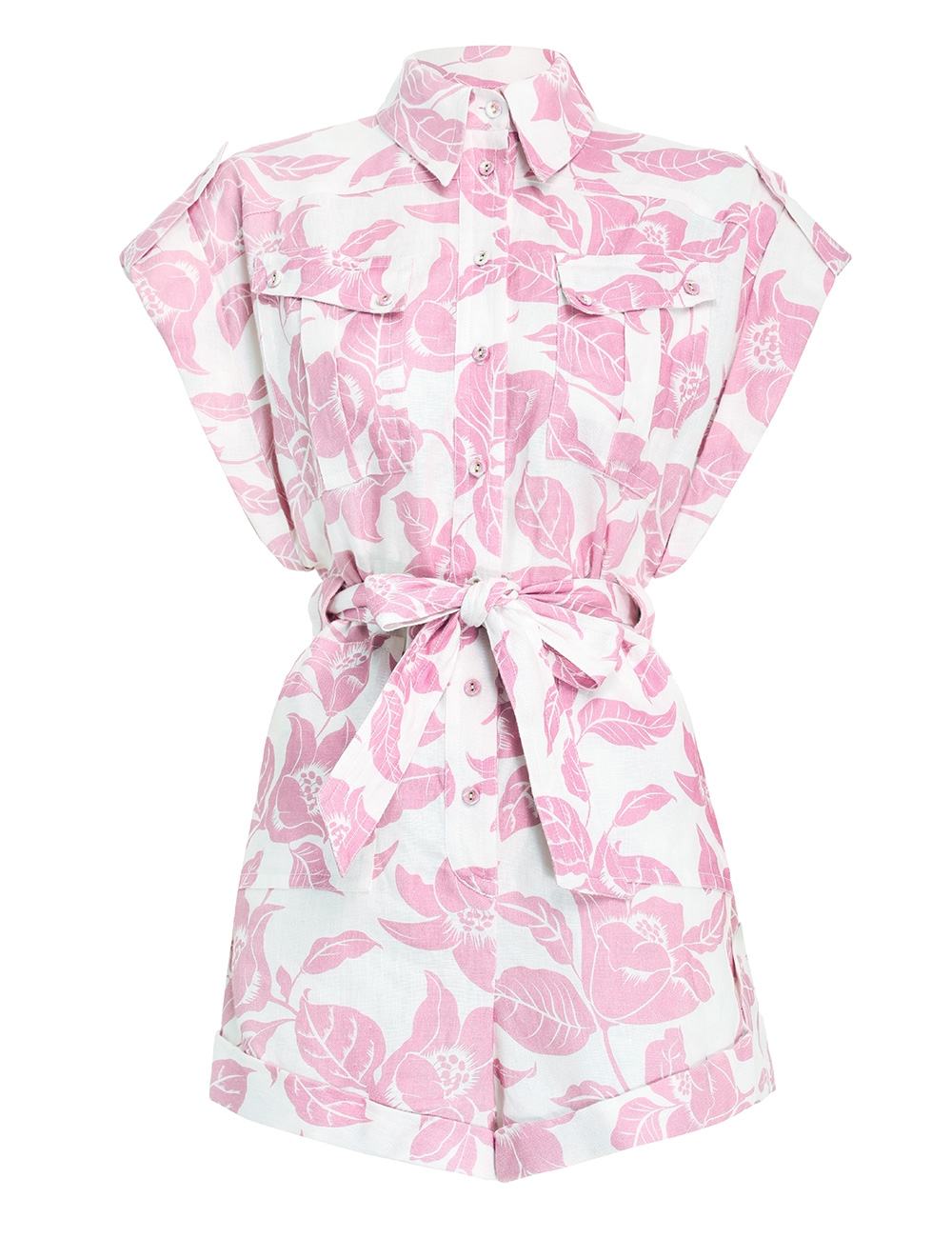 Bells Cuffed Playsuit