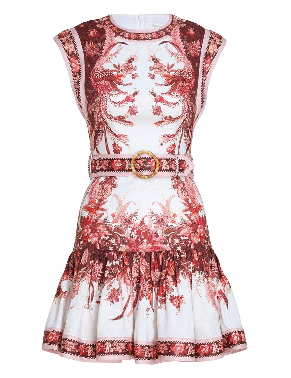 Wavelength Fluted Mini Dress