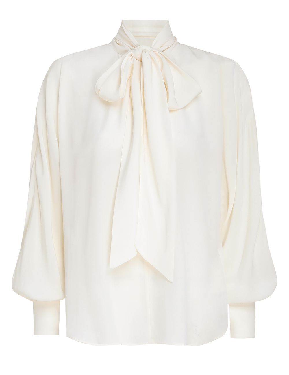 Batwing Silk Blouse