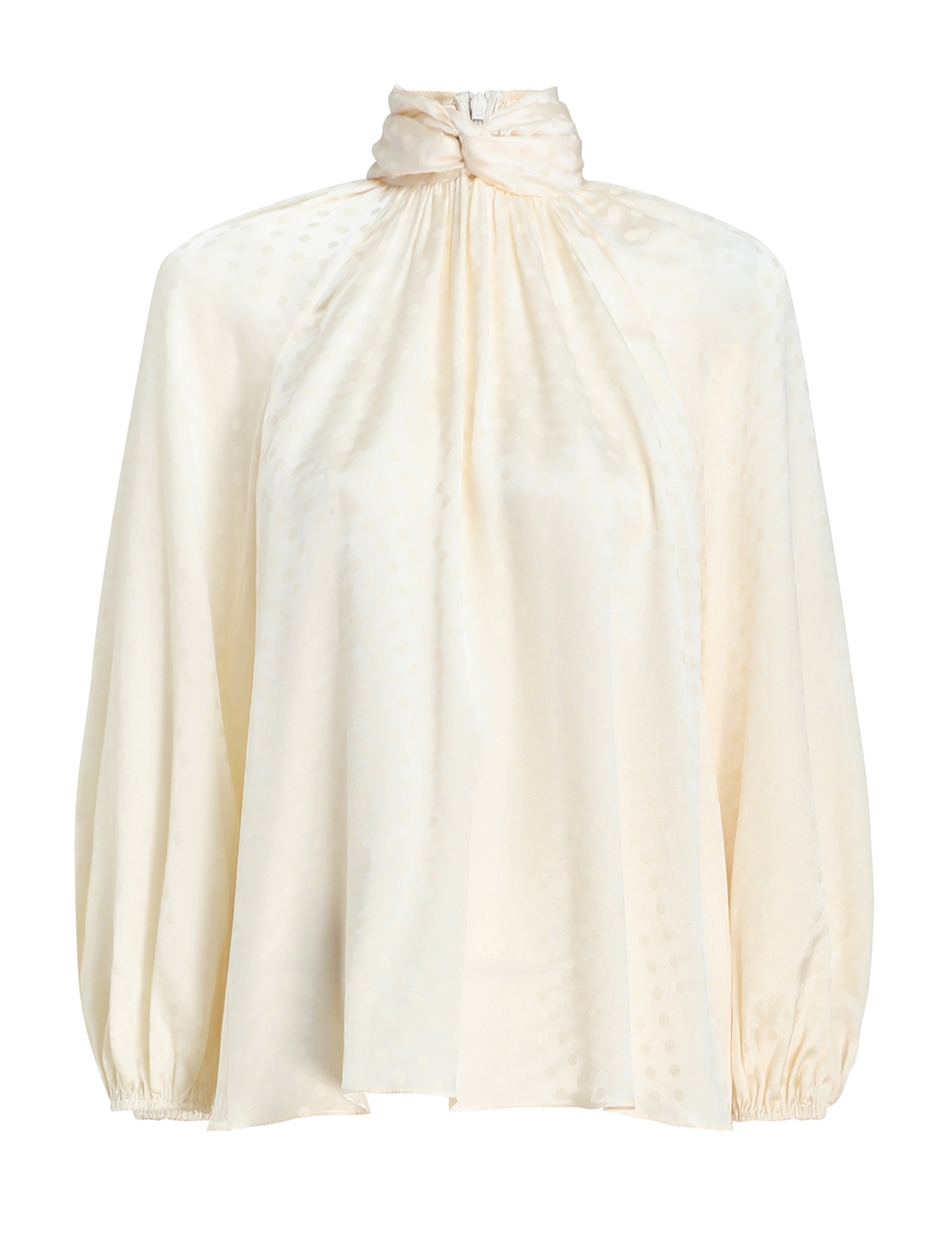 Wavelength Twist Neck Blouse