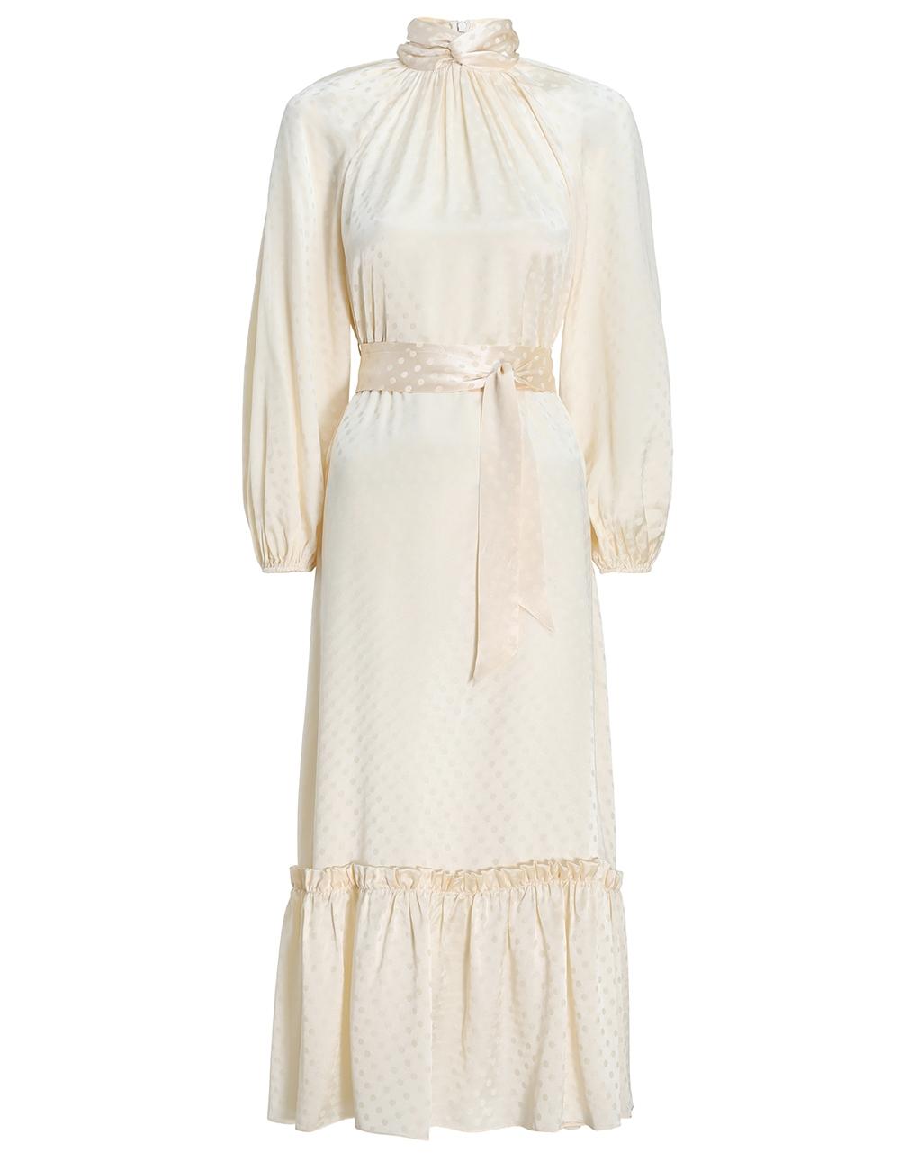 Wavelength Twist Neck Dress