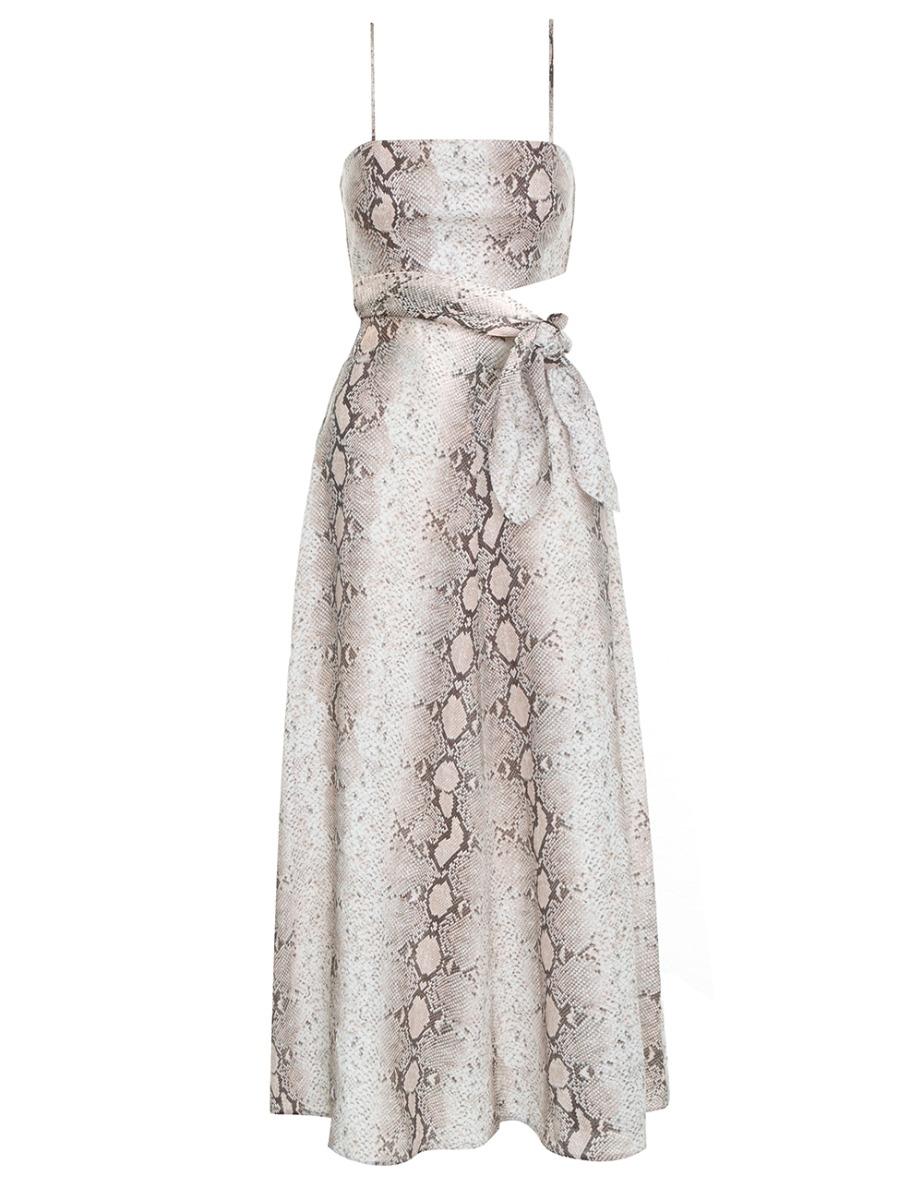 Bellitude Scarf Tie Dress
