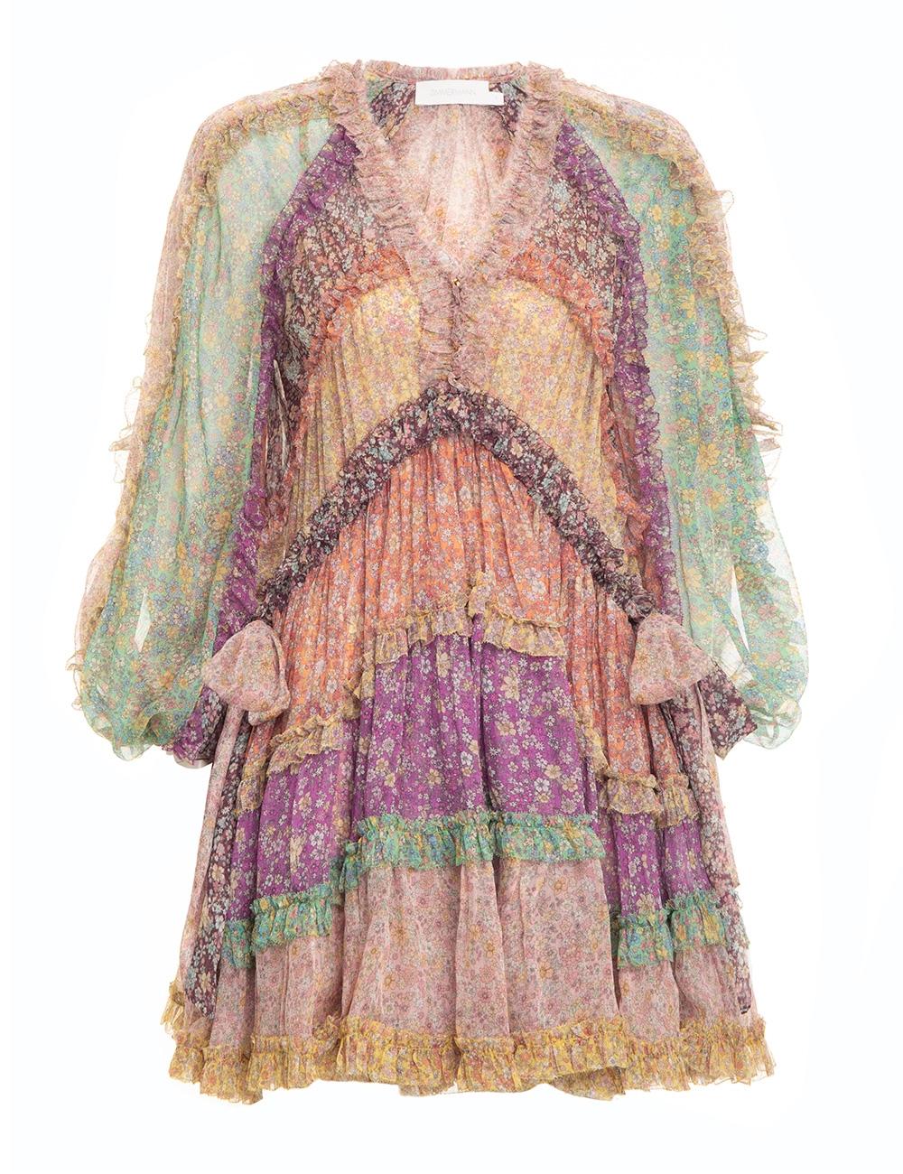 Carnaby Frill Billow Dress