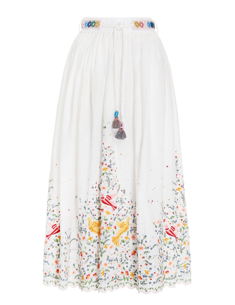 Carnaby Embroidered Bird Skirt