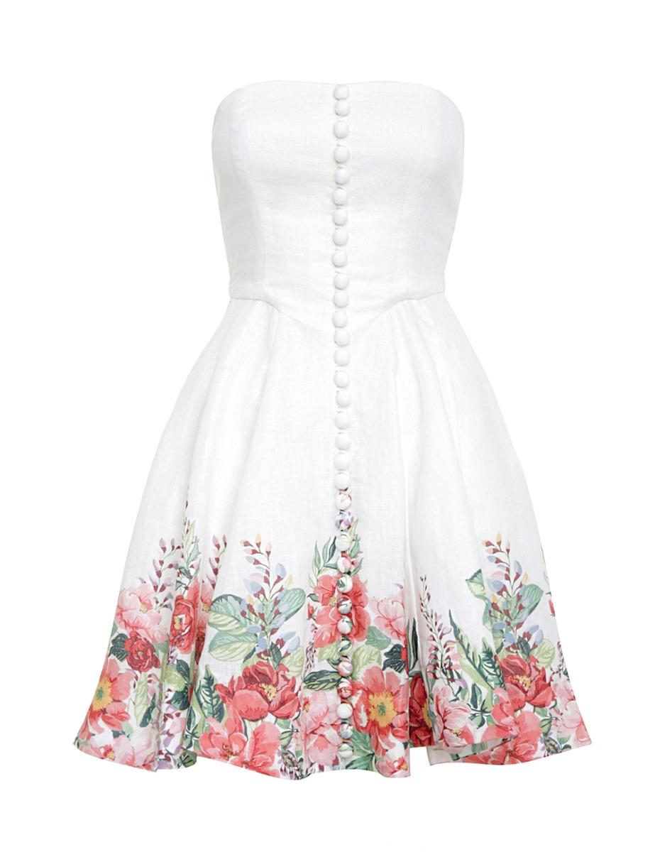 Bellitude Bustier Short Dress