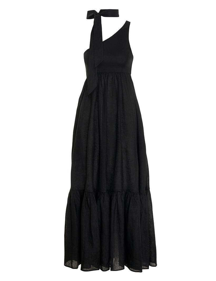 Empire Tie Neck Dress
