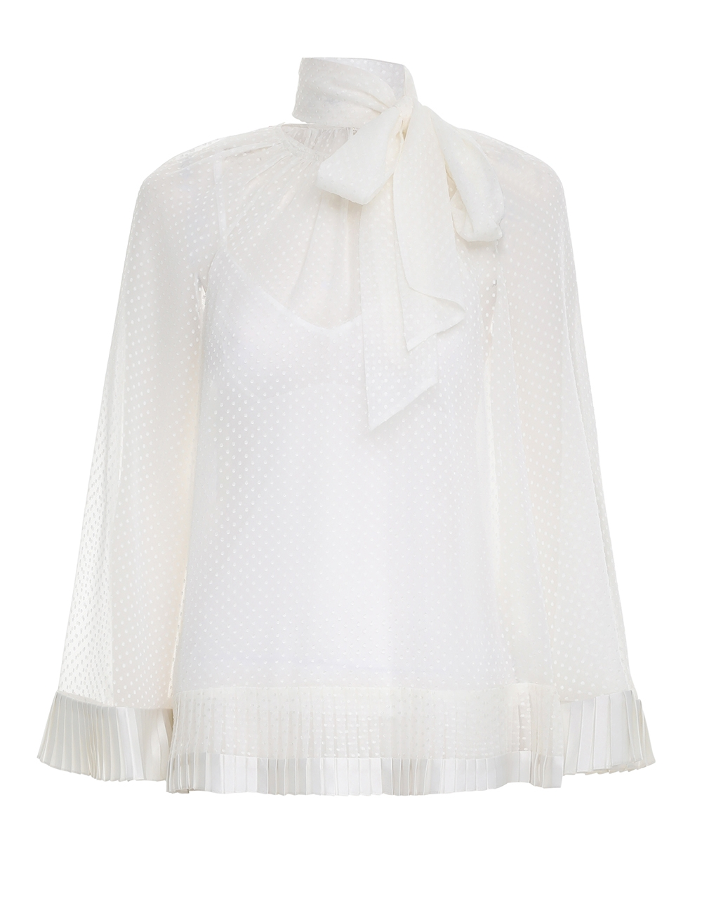 Tiered Flared Blouse