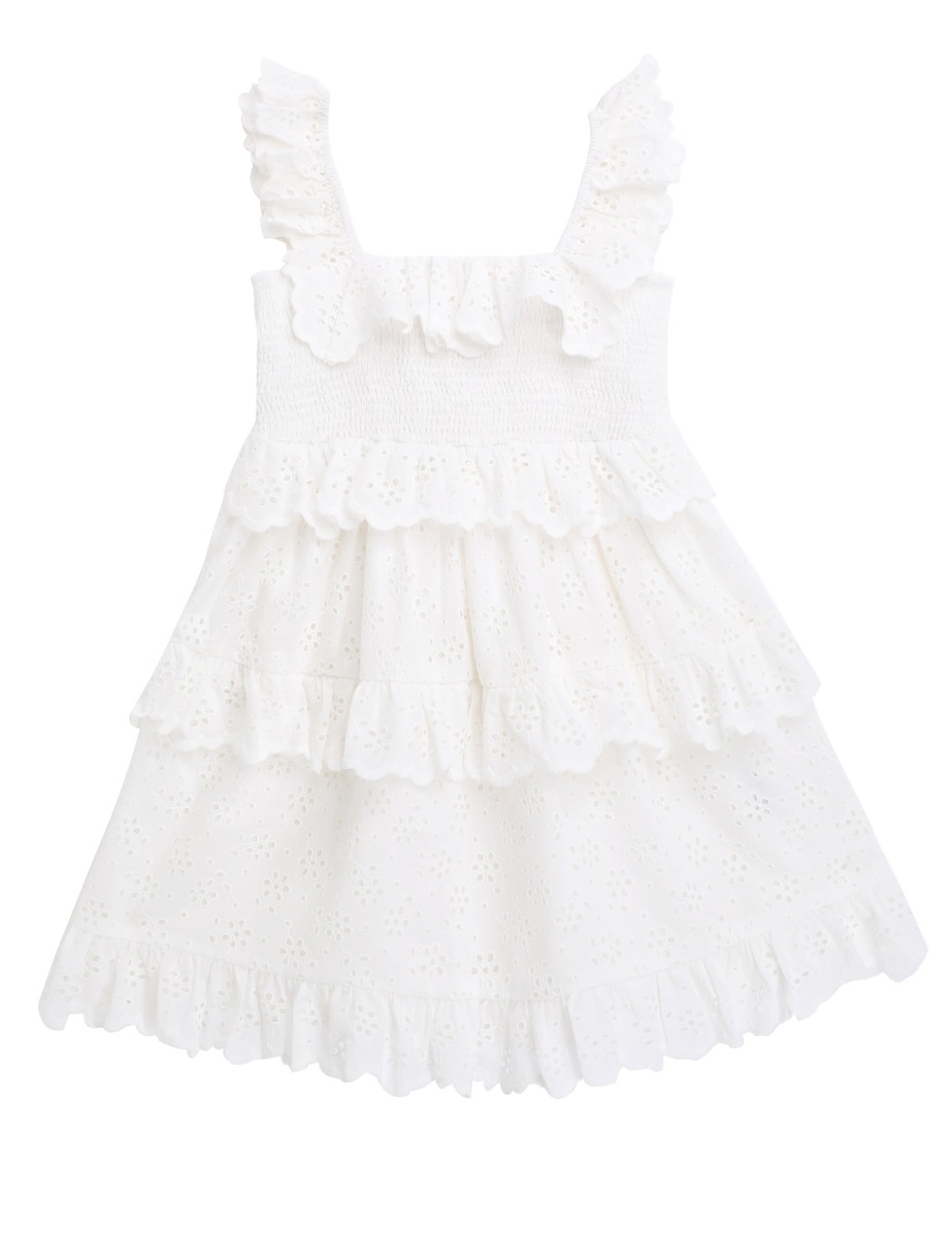 Bellitude Ruffle Tiered Dress