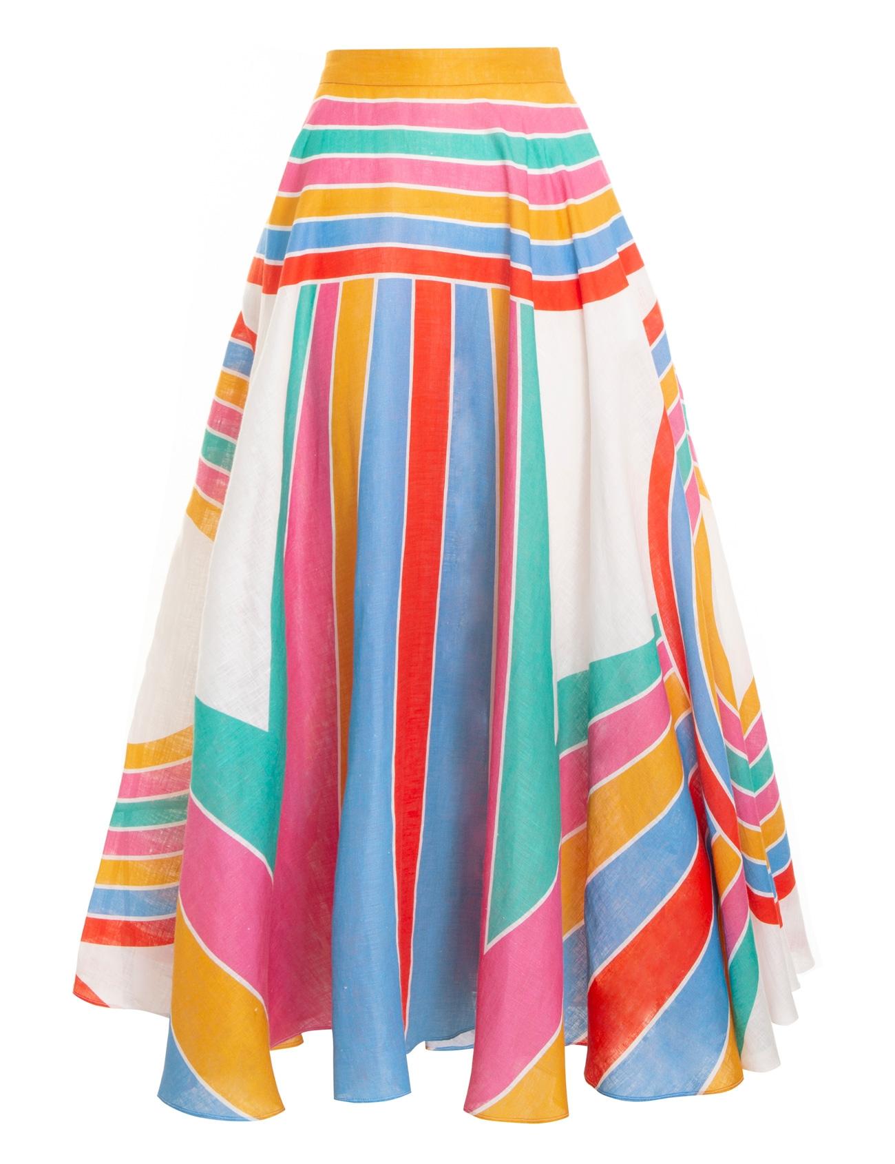 Fiesta Rainbow Full Skirt