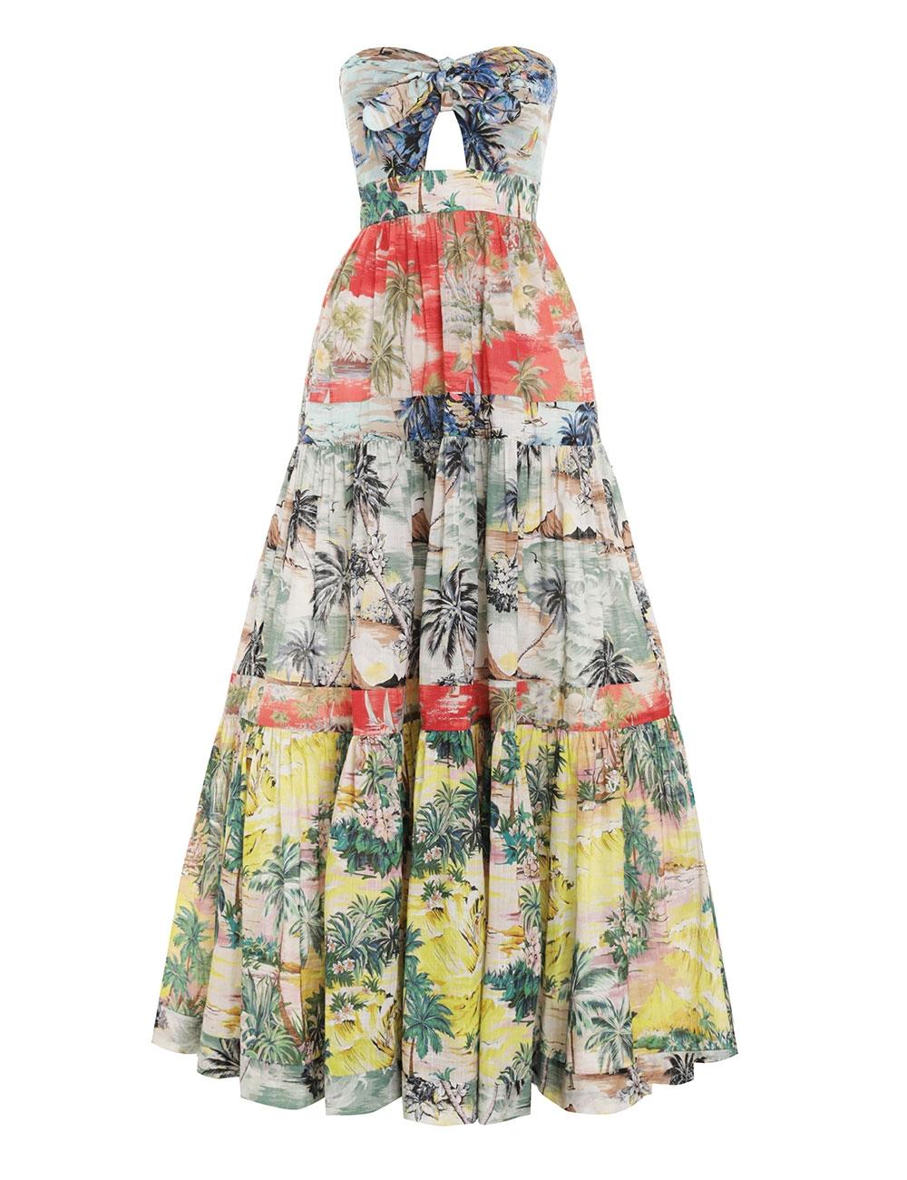 Juliette Tie Front Dress